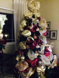 Christmas Tree 2014 - ribbons 2nd stage (red)