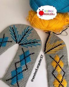 Best 12 Happy Nights to everyone güzellik These beauties, and – SkillOfKing. Baby Knitting Patterns, Lace Knitting, Knitting Socks, Crochet Patterns, Tunisian Crochet, Free Crochet, Yarn Projects, Hand Warmers, Mittens