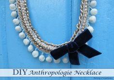 @Artzy Creations DIY Anthropologie Necklace