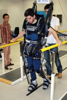 mind-controlled exoskeleton lets paralysed people walk. if this isn't incredibly fantastic news, i don't know what is.