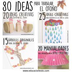 80 ideas para trabajar el otoño