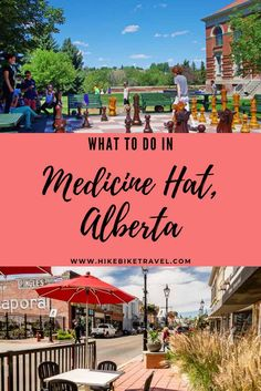 What to do in Medicine Hat, Alberta - even if you only have a few hours; this city boasts a great cafe culture & Medalta is a museum well worth visiting #MedicineHat #Alberta #whattodo #summer #travel
