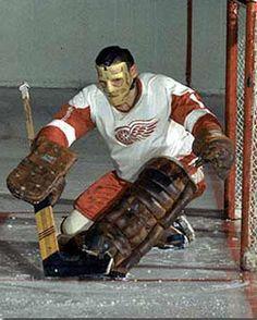 Terry Sawchuck, Red Wings de Détroit, #1...