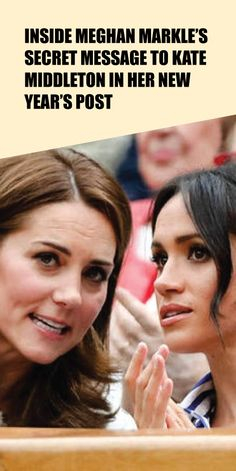 Inside Meghan Markle's Secret Message to Kate Middleton in Her New Year's Post - Taste Every Season Prince William And Kate, Prince Harry And Meghan, New Year Post, Kate Middleton News, Meghan Markle News, Doria Ragland, More Instagram Followers, Kate And Meghan, Take The First Step