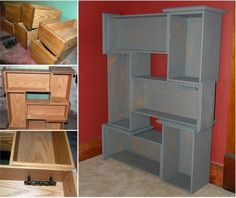 If you are looking for ideas to repurposed old drawers you are in a right place. Sadly, furniture is like everything else.