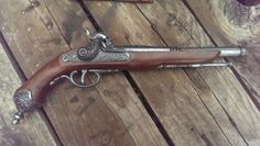 Pistolet de Pirate de Jack Sparrow a silex Steampunk Gun réplique Non tir Prop                                                                                                                                                                                 Plus