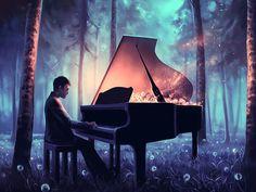 Illustration : Les magnifiques créations digital painting de Cyril Rolando