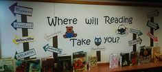 """Image result for """"where will reading take you?"""""""
