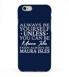 Rizzoli & Isles - Maura Isles CASE  #gift #idea #shirt #image #music #guitar #sing #art #mugs #new #tv #cool