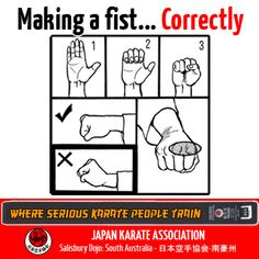 Correct Fist - #JKA #Karate