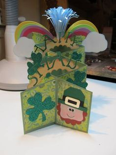 St. Pats  - shapes used for leprechaun