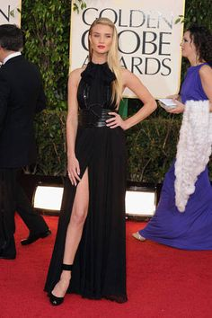 In honor of tonight's Golden Globes, we look back at last year's red carpet. Click to see more!