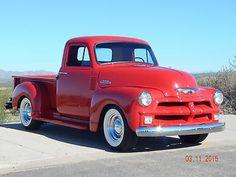 Vintage Trucks Chevrolet 3100 Ton Short Bed Pick-Up Truck◆ Classic Pickup Trucks, Old Pickup Trucks, Gm Trucks, Cool Trucks, Nissan Pickup Truck, 1954 Chevy Truck, Chevrolet Trucks, Chevrolet 3100, Gmc Pickup