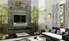 Add some nature to your living room, for it will bring some freshness to the room. Creating a positive ambiance