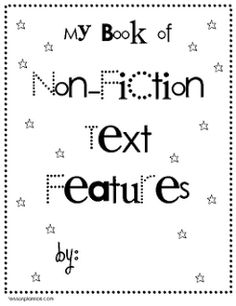 Download a PDF slide show of all 23 of my Nonfiction Text