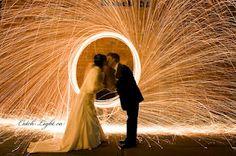 {Light Painting} mariageinprogress.com