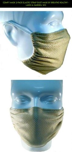 Comfy Mask 2-Pack Elastic Strap Dust Mask By Breathe Healthy - Lawn & Garden, Wo #technology #products #camera #fpv #drone #racing #shopping #gadgets #gardening #mask #plans #tech #kit #parts