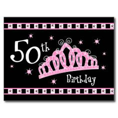 Shop Tiara Birthday Postcard Invitation created by pinkinkart. Personalize it with photos & text or purchase as is! 60th Birthday Party Invitations, 40th Birthday, Princess Birthday, Happy Birthday, Personalized Invitations, Zazzle Invitations, Birthday Postcards, Postcard Invitation, Create Your Own Invitations