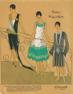 Evening and afternoon frocks, 1926
