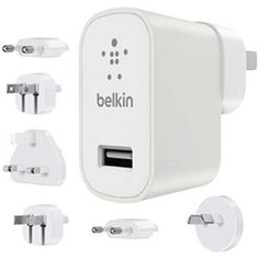 Belkin Global Travel Kit Usb Wall Charger