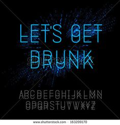 Neon Font Stock Photos, Images, & Pictures | Shutterstock