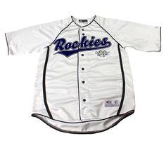 Colorado Rockies White MLB Baseball Jersey Mens Sportswear Size Medium