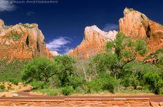 Court of the Patriarchs (Zion National Park) -- Photo © 2005 Joe Braun Photography