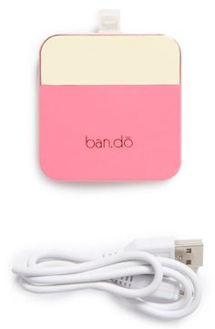Nordstrom  Ban.do 'Back Me Up' iPhone 5 Charger
