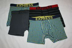 7 SEVEN NEW NWT Mens Banana Republic Boxers Boxer Shorts Underwear LARGE L *C7