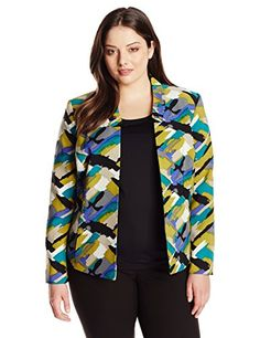 Kasper Women's Plus-Size Abstract Printed Open Jacket, Li... http://www.amazon.com/dp/B017G0LD7U/ref=cm_sw_r_pi_dp_4P9lxb1Y3NY4H