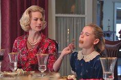 Happy Thanksgiving #thanksgiving #madmen #bettydraper #bettyfrancis #sallydraper #januaryjones #kiernanshipka #madmenpics