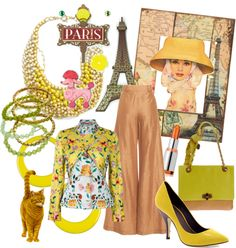 """""""Dreaming of Paris"""" by neurone ❤ liked on Polyvore"""