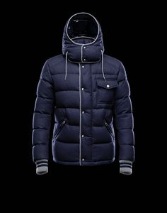 Moncler 2013 Mens Jacket Bresle Blue for Sale