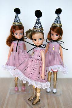 Vintage Licca Trio