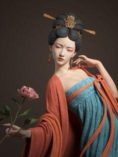 ArtStation - 丽人行, Qi Sheng Luo