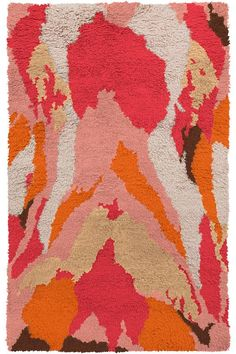 Surya Liona Hand-Woven Pastel Pink Area Rug Rug Size: x Funky Rugs, Latch Hook Rugs, Contemporary Area Rugs, Hand Tufted Rugs, Rug Hooking, Throw Rugs, Wool Area Rugs, Wool Rugs, Pastel Pink