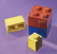 Allan Innman Paints Childhood Toys.