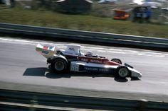Mark Donohue (USA) (Penske Cars), Penske PC1 - Ford-Cosworth DFV 3.0 V8 (finished 12th).  1974 Canadian Grand Prix, Mosport Park