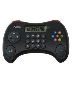 Cool Gamer Calculator: The kids won't mind math homework with this hip number-crunching gadget.