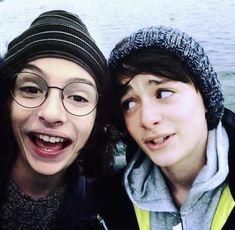 Finn and Noah