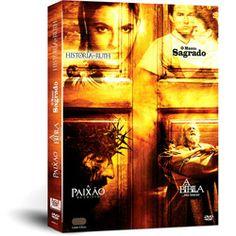 Box DVD Religiosos (4 DVDs)