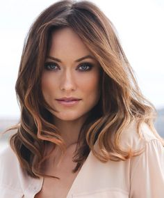 Olivia Wilde with gorgeous hair & makeup