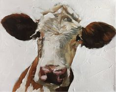 Cow Art Print, Picture of Cow, Cow Painting, Cow Wall Art, Cow Art, Horse Art, Cow Pictures, Pictures To Paint, Cow Painting, Painting & Drawing, Holstein Cows, Cow Gifts