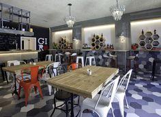Bar Restaurante GIRÓ en Benissa, Alicante.  #Interiorismo #Deco #Decoración #Locales #Comerciales #Diseño