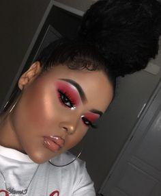 glam makeup looks Makeup On Fleek, Kiss Makeup, Flawless Makeup, Cute Makeup, Glam Makeup, Gorgeous Makeup, Pretty Makeup, Makeup Tips, Hair Makeup