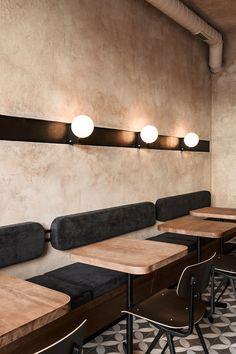The Break Room. - The Break Room. Design Café, Cafe Design, Modern Design, Deco Cafe, Deco Restaurant, Modern Restaurant, Coffee Shop Design, Coffee Shop Interior Design, Coffee Cafe Interior