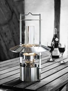 Check out the Stelton Ship's Lamp, in Outdoor Lanterns, Outdoor Lighting from Unica Home for Stelton, Oil Lamps, Modern Lanterns, Scandinavian Modern, Lamp, Glassware, Lanterns, Modern, Glass