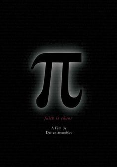 Pi (1998). Darren Aronofsky's jarring black-and-white brain-bender is a haunting examination of one man's numerical obsession. The story follows a fragile number theorist who's on the trail of a 216-digit number that could unlock the secrets of the universe.