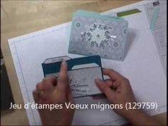 Stampin'UP! - Cartes à onglets. Tutoriel gratuit en français