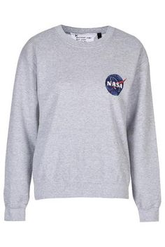 Nasa Distressed Sweater by Tee & Cake - Tops - Clothing - Topshop